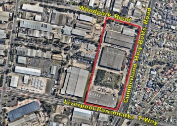 Planning Proposal Request for 106-128 Woodpark Road, Smithfield