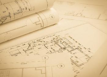 Architect blueprints