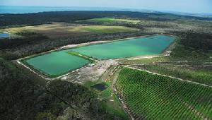 Storage for recycled water scheme in Hervey Bay
